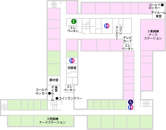 フロア図 3F
