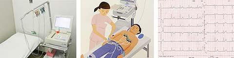 12誘導心電図検査機器