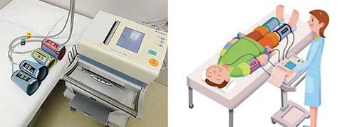血圧脈波検査機器